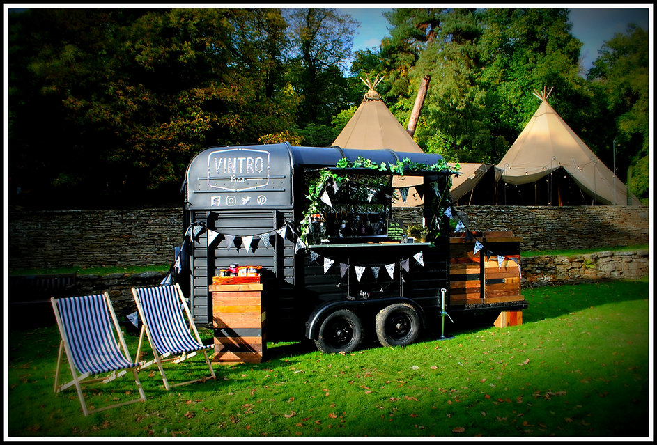 Sheffield Mobile Bar Hire Vintage Weddin