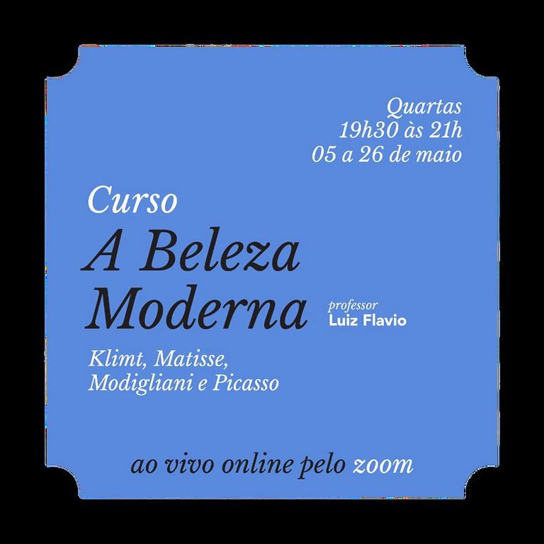 Masterclass sobre Picasso com prof. Luiz Flavio (Aula avulsa)
