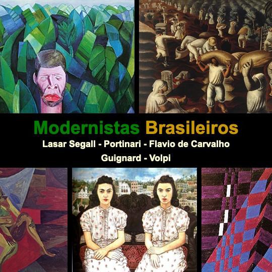 Modernistas Brasileiros com o professor Luiz Flavio