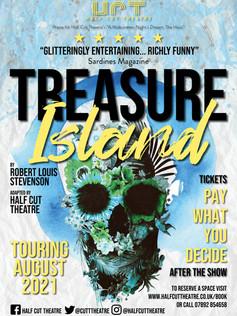 Half Cut POSTER treasure island (TOURING