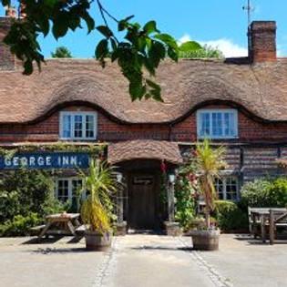 The George Inn at Vernham Dean 3pm