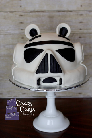 Angry Birds Stormtrooper Cake