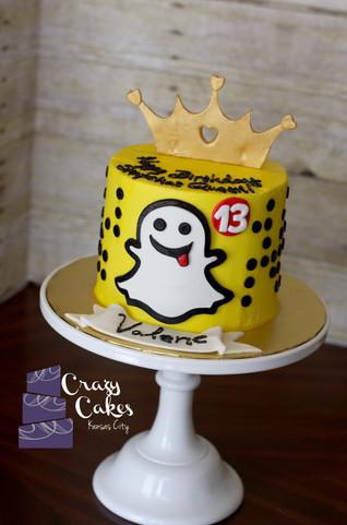 Snapchat Cake