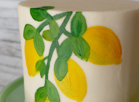 Painted Buttercream: A how-to guide from a non-painter