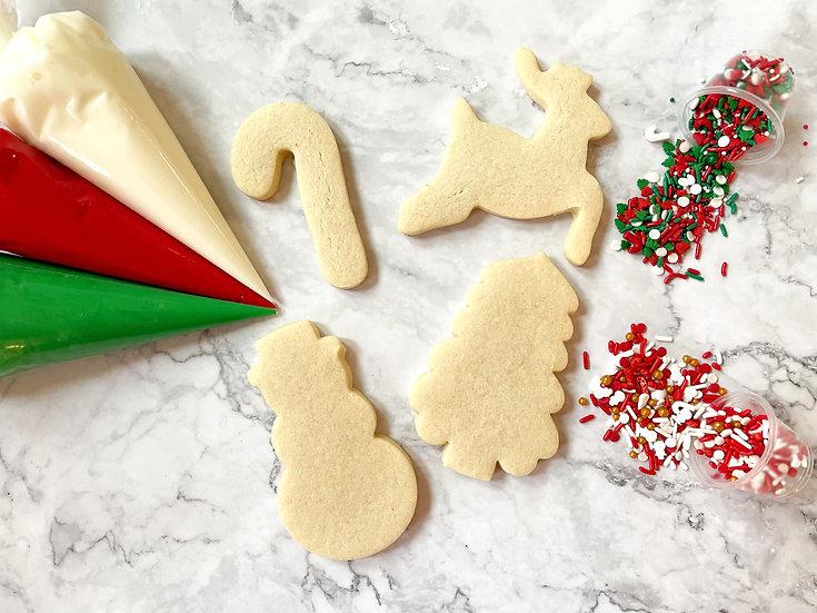 DIY Christmas Cookie Set