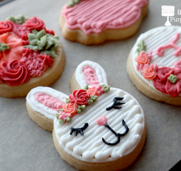 Spring Buttercream Cookies