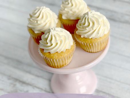 Perfect Vanilla Cupcakes