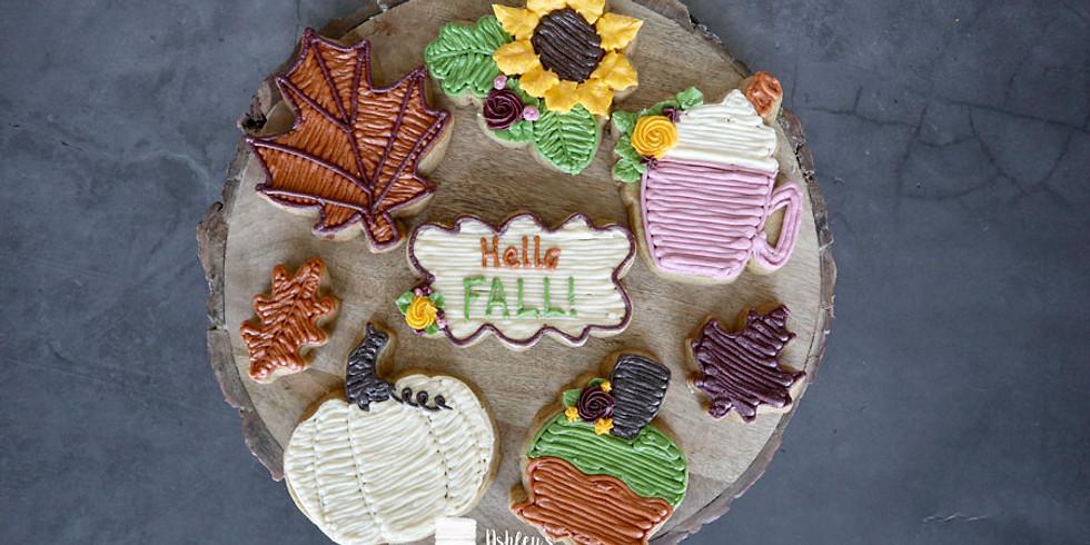 September Buttercream Cookie Class