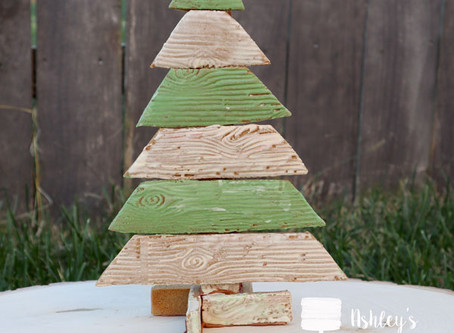 Rustic Gingerbread Christmas Tree