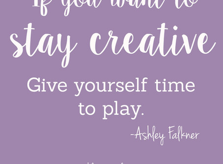 Creating Just to Create