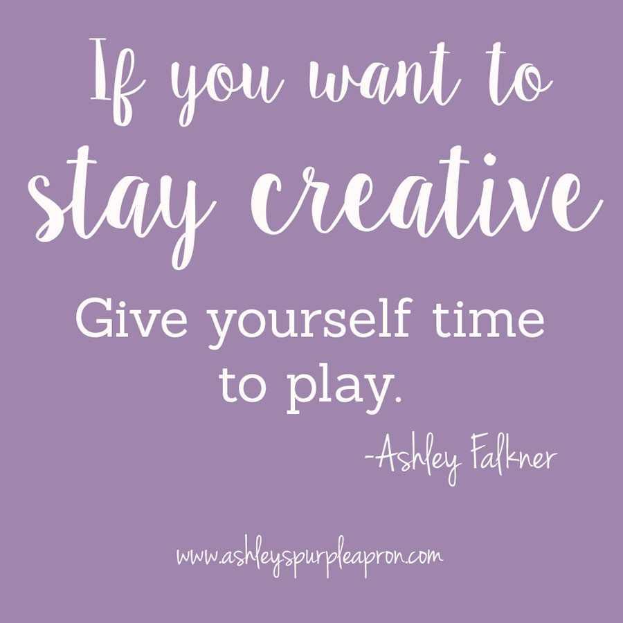 Staying Creative, creating just to create