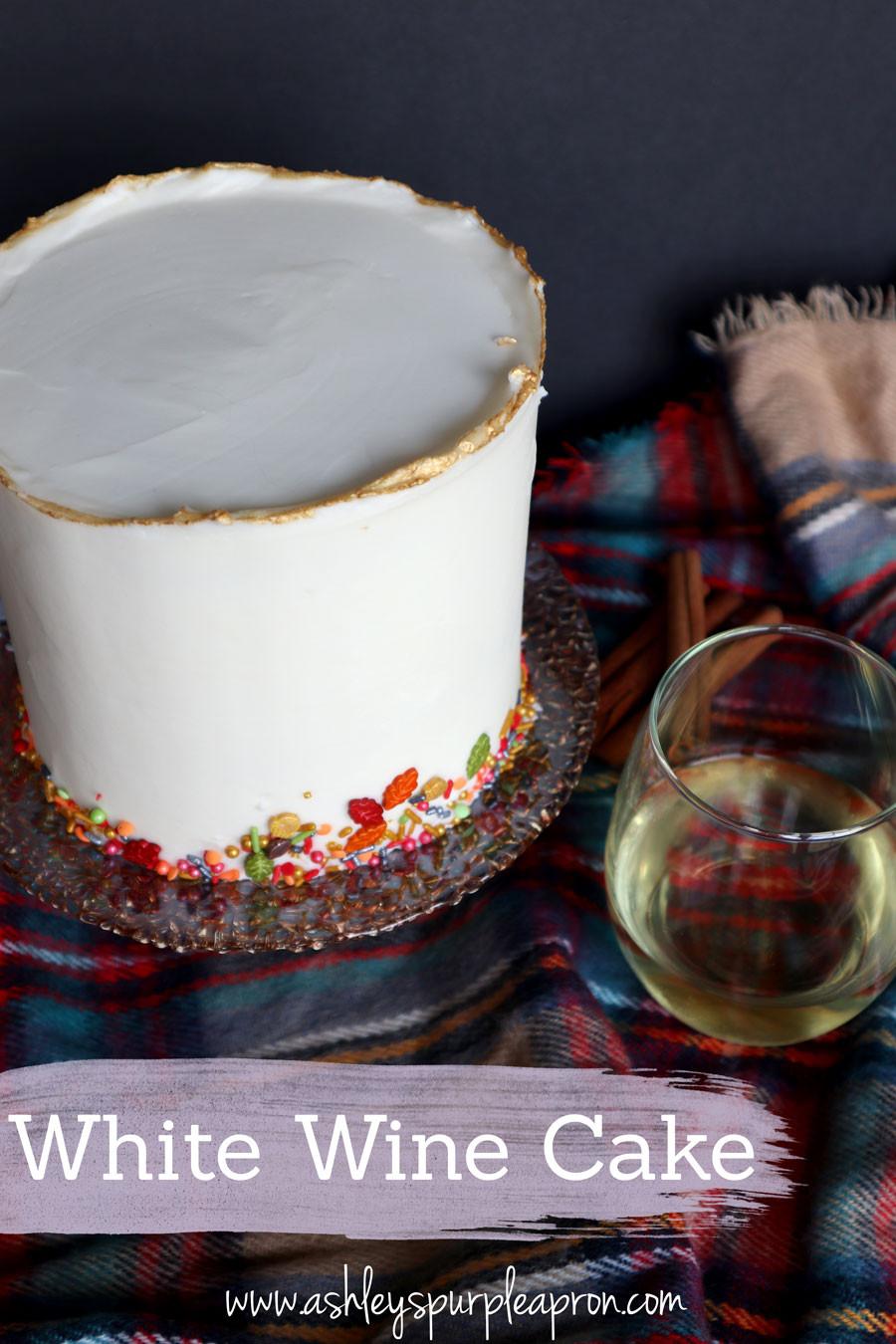 White wine cake recip