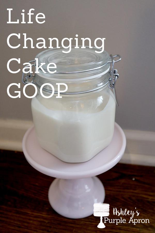 Cake Goop