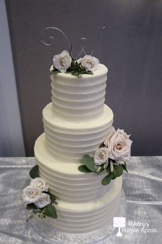 Faceted Wedding Cake
