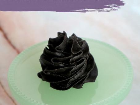How to Make Black Buttercream