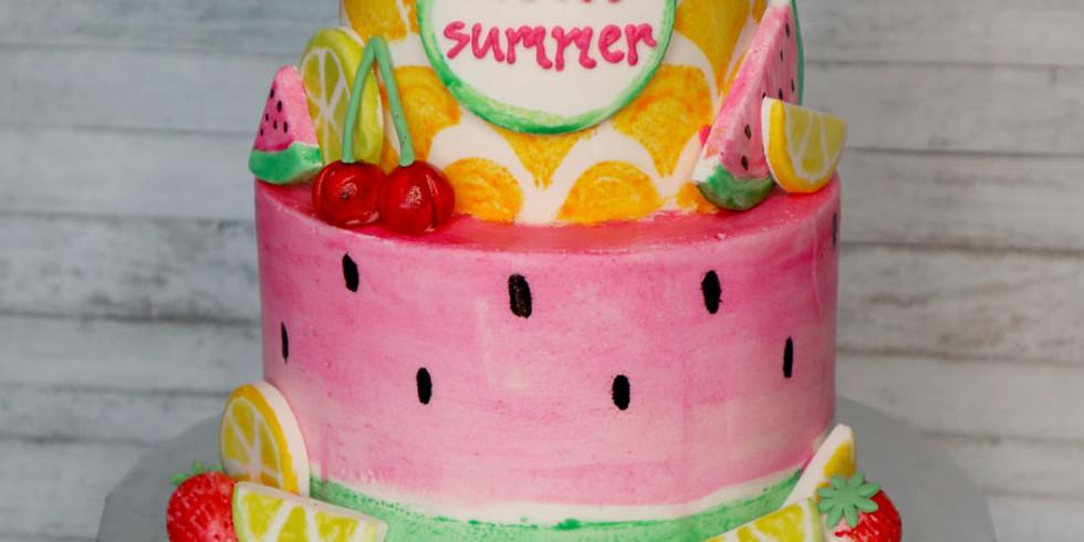 Tutti Frutti Painted Cake [Online]
