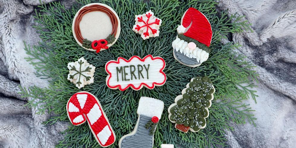 Christmas Buttercream Cookie Class