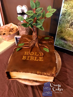 Rooted in Faith Cake