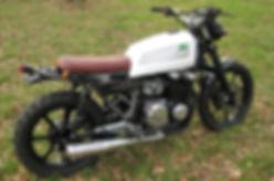 Kawasaki GT 550 Street Scrambler Custom Motorcycle