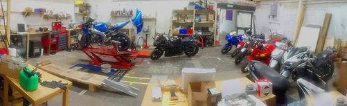Bluedge Motorcycle workshop