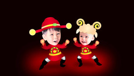 2015 happy new year AE人物骨骼繫結