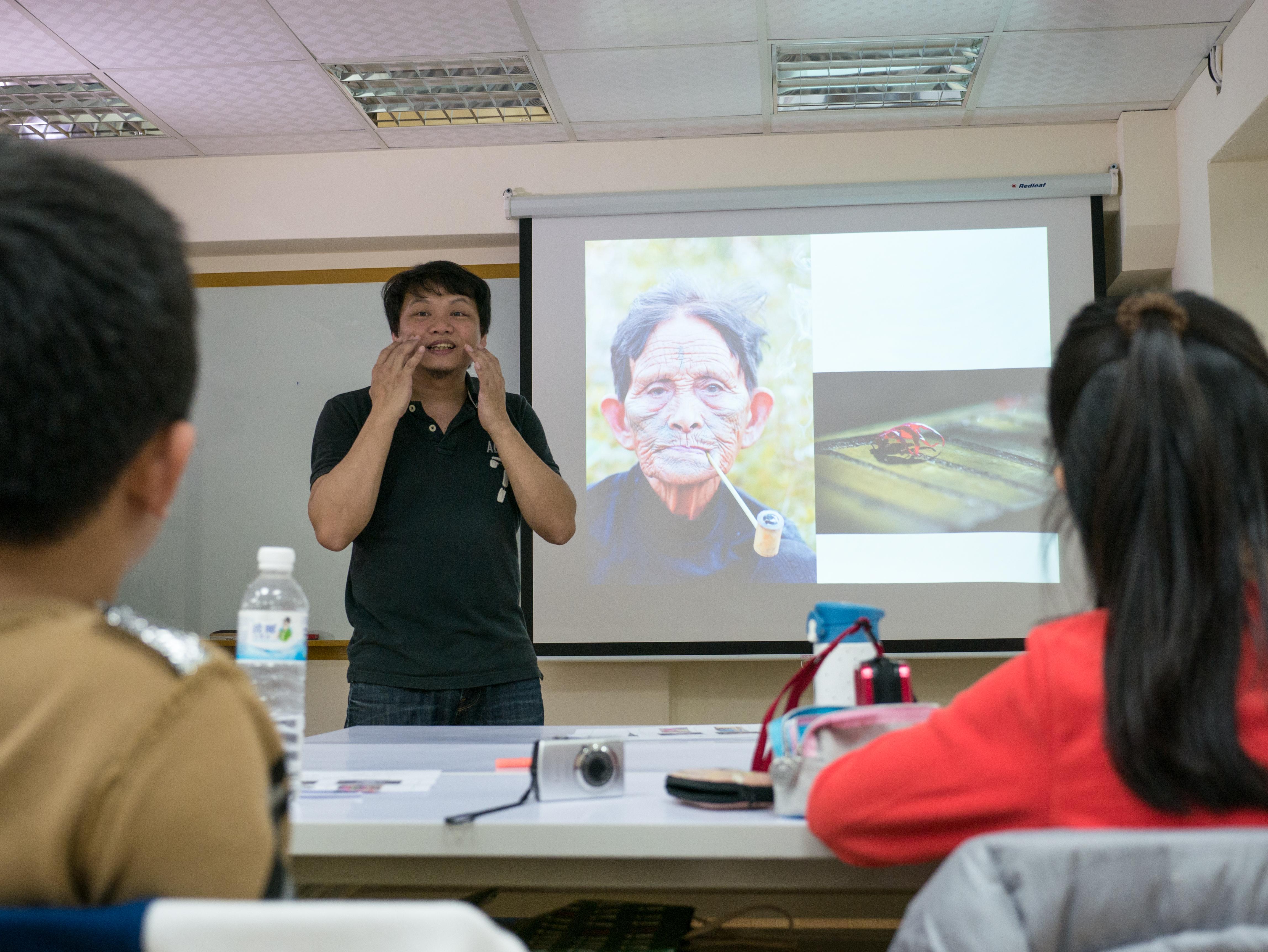 攝影營三天的課程大綱內容。