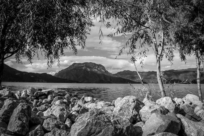 格姆女神山@瀘沽湖