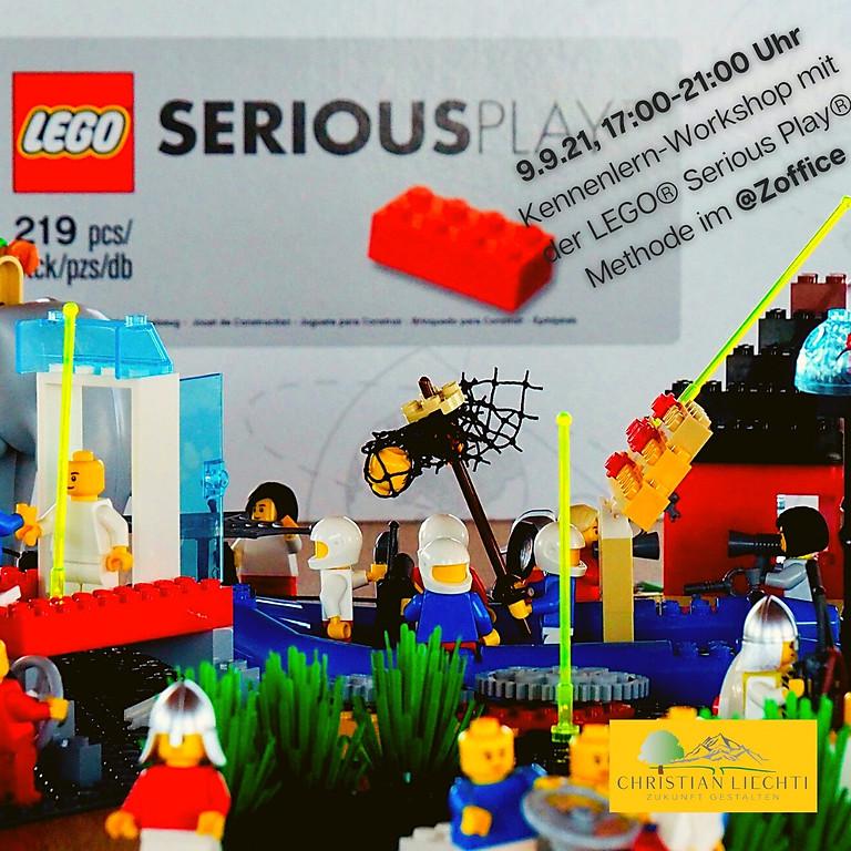 Kennenlernen LEGO® Serious Play® Methode im Zoffice