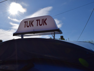 Cotswold Tuk Tuk Tours April Blog
