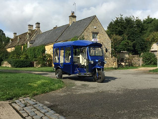 Cotswold Tuk Tuk Tours August 2018 Blog
