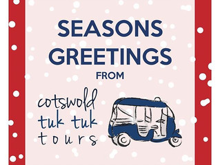 Cotswold Tuk Tuk Tours December Blog