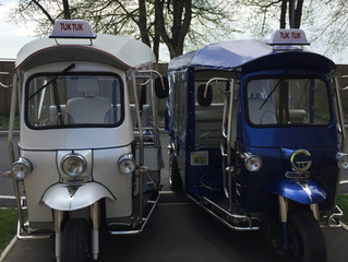 Cotswold Tuk Tuk Tours April 2018 Blog
