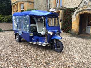 Cotswold Tuk Tuk Tours November Blog