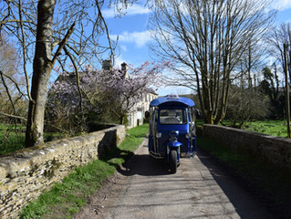 Cotswold Tuk Tuk Tours March Blog