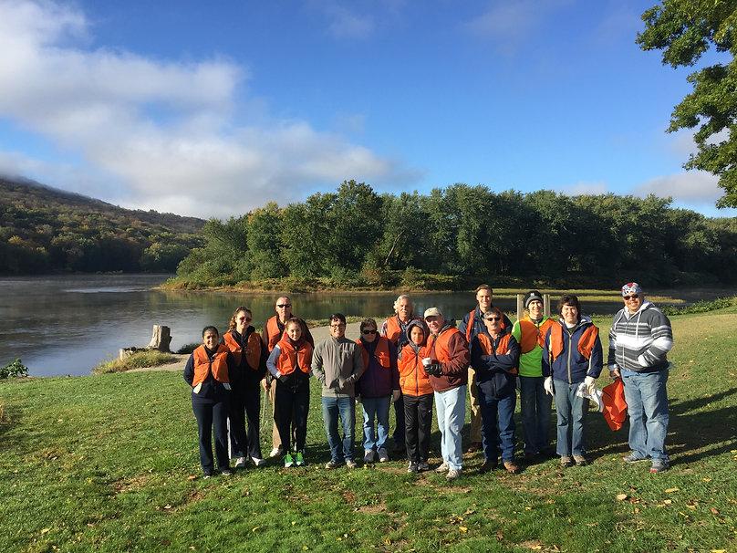 Bi-Annual River Road Clean-Up