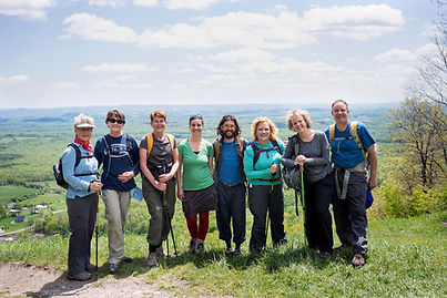 Appalachian Trail Hikers Shawnee