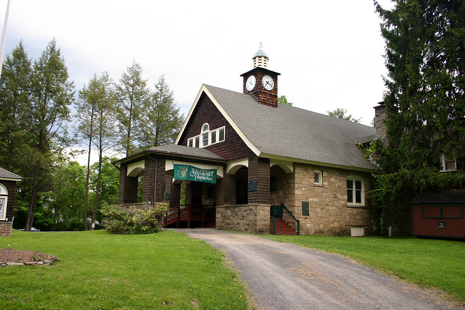 Historic Playhouse in the Poconos