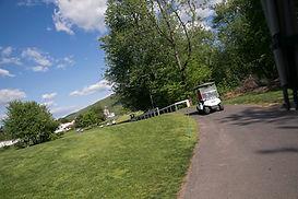Golf Cart on 27-Hole Course Poconos
