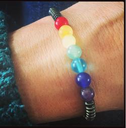 Chakra Grounding Bracelet
