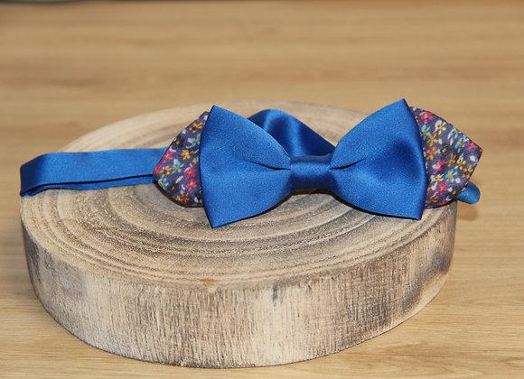 Noeud papillon LIBERTY SAT bleu