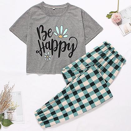Sleep wear sets - shirt/long pants