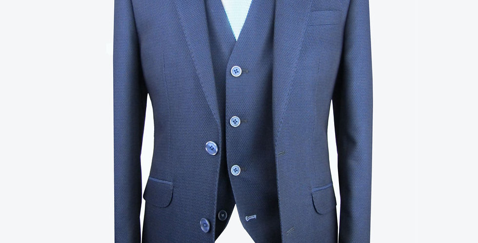 White's 3 Piece Navy Suit