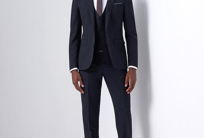 Remus Uomo Black Suit