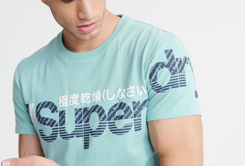 Superdry Core Spilt Logo Tee