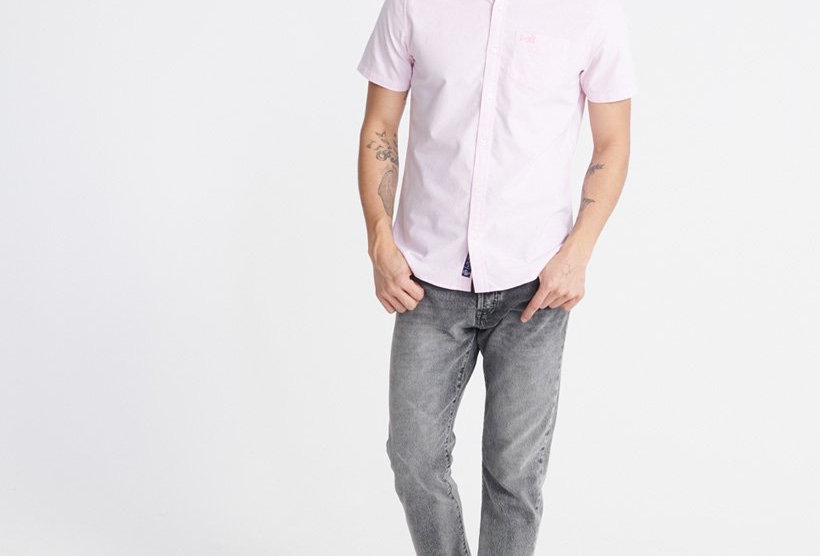 Superdry Classic Oxford Short Sleeve Shirt