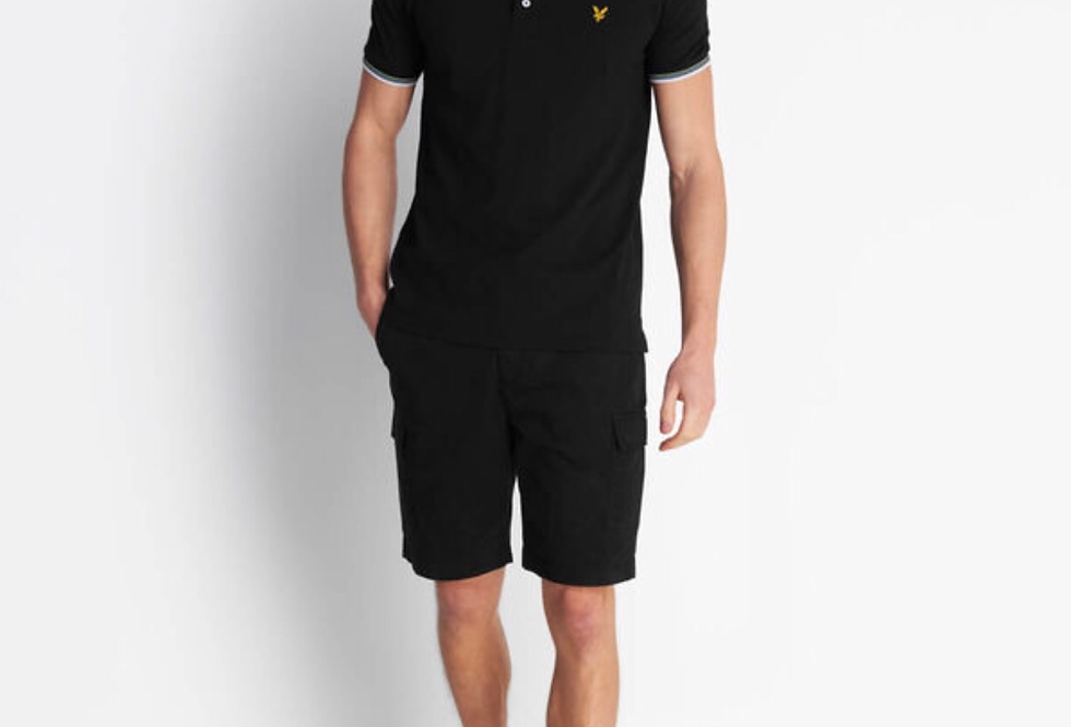 Lyle & Scott Tipped Polo Top