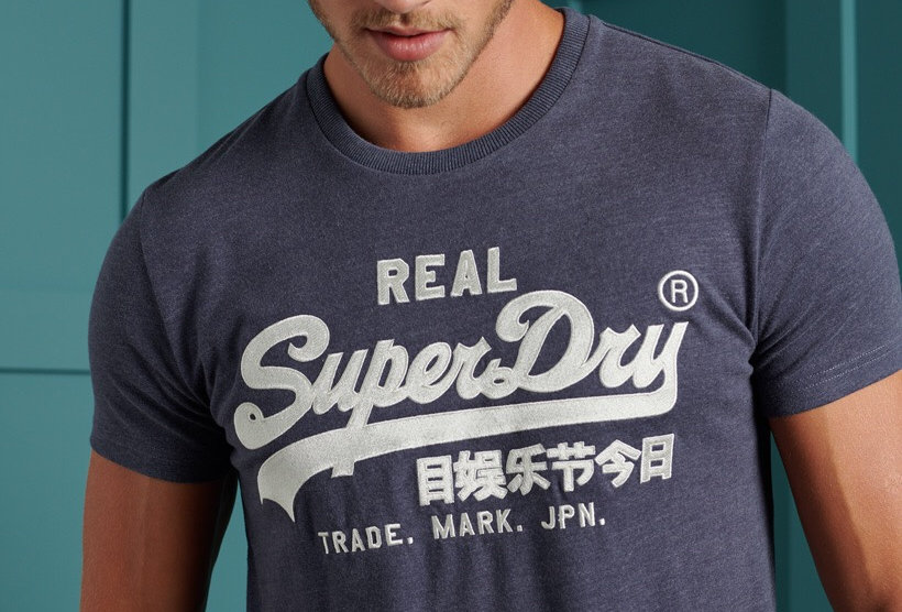Superdry VL Embroidery tee