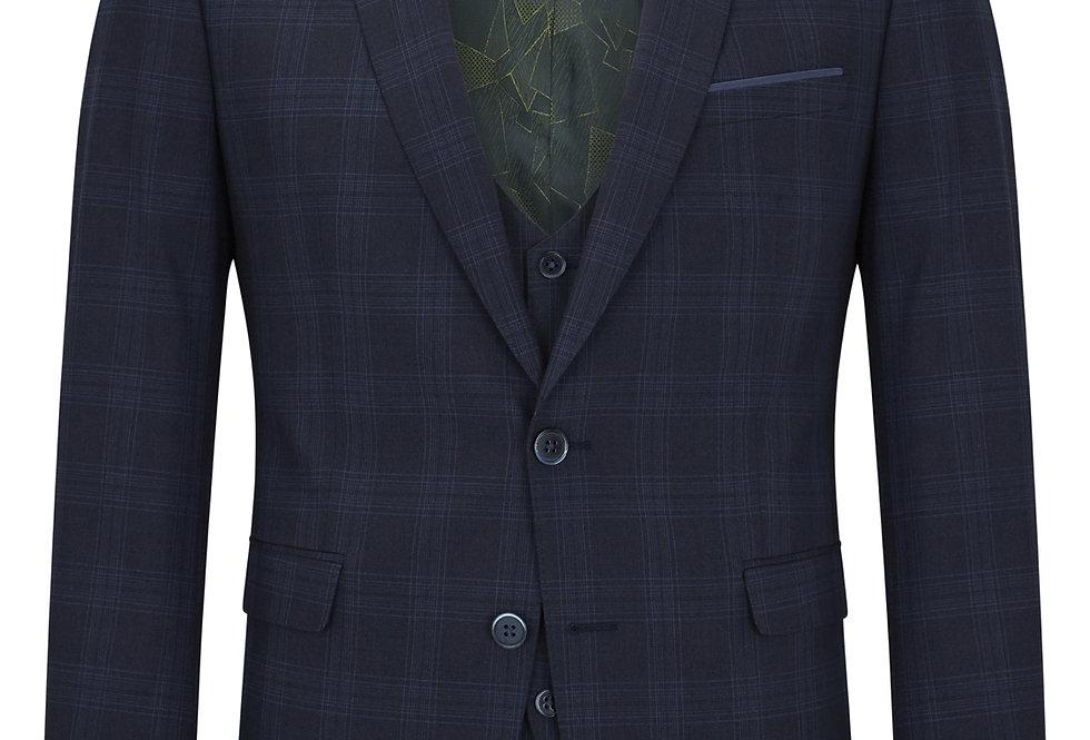 Remus Uomo Lucian Check 3 Piece Suit