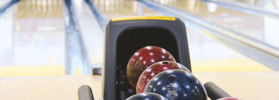 Bowling banor