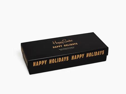 CLASSIC HOLIDAY SOCKS GIFT BOX 4 - PACK